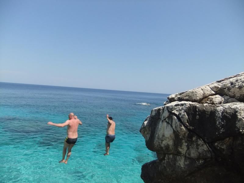 Baden auf Sulu Ada
