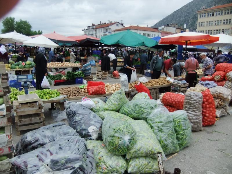 Wochenmarkt in Egirdir