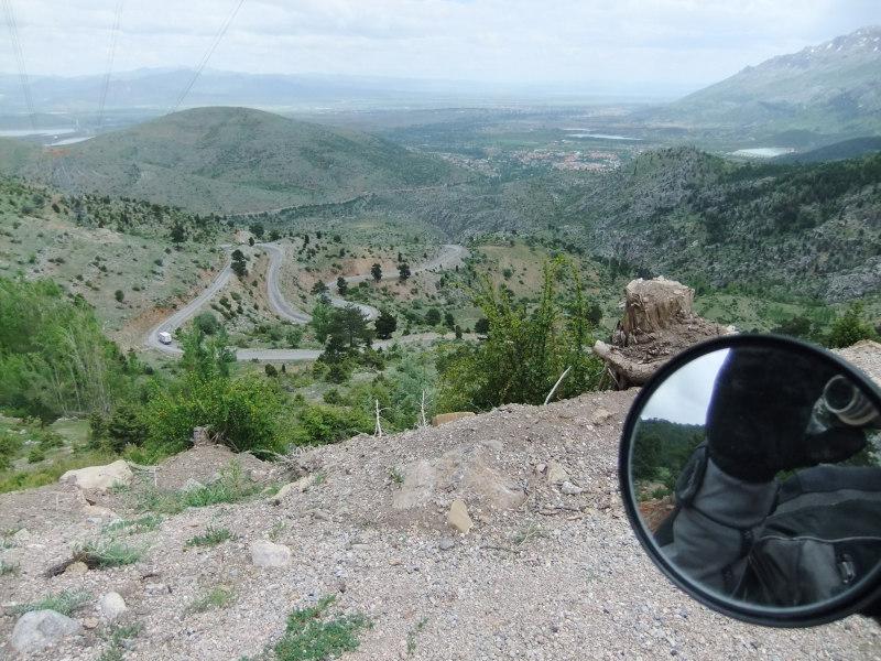 Blick vom Pass
