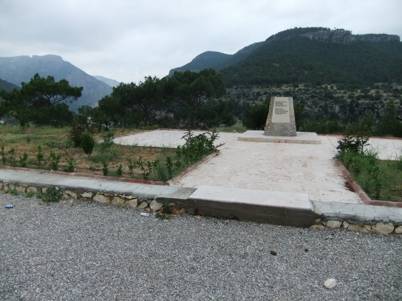 Gedenkstein für Kaiser Barbarossa