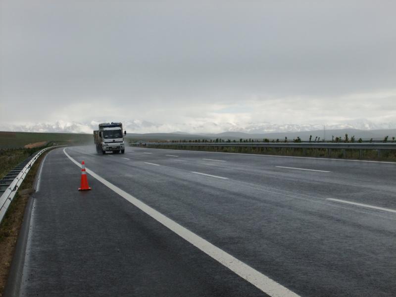 """neue Autobahn und """"Benzinpanne"""""""
